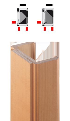 Porte interne for Scurini per finestre